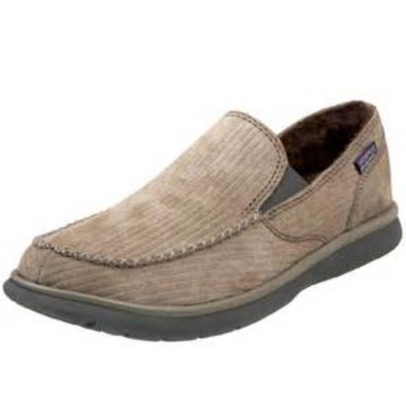 1dbd7d80 Patagonia Beige Men Maui Moc Fleece loafer Sz 11. M_5a5cec2a2ae12f0df195da73